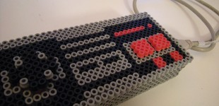 Fuse Beads NES Controller